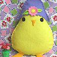 Spring Chick: Lavender Cloche