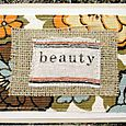 Textile Card: Beauty
