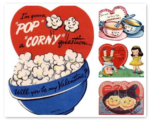 Toll Vintage Kids Valentines Mosaic