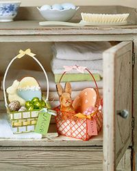 Decorated Berry Baskets