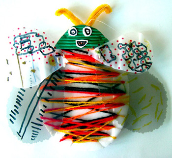 Bugs From Recycled Materials