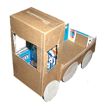Cereal-box-truck