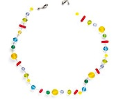 FamilyFunclearbeadnecklace