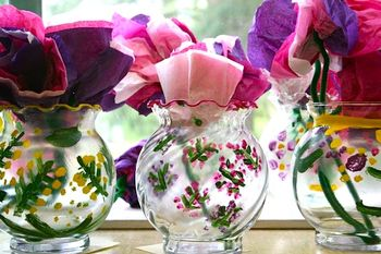 SuchThingspaintedglassvases