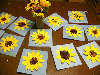 Sunflowers X 4
