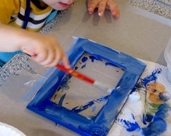painted picture frames plumpuddingpaintedframes