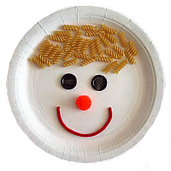 MyCraftBookpaperplateface