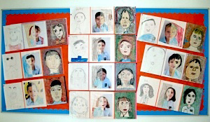 self portrait art lessons things to make and do crafts and