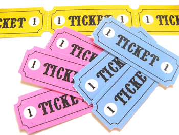Pretend Tickets Printable Things to Make and Do Crafts and