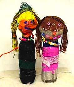 Incredibleartbottledolls
