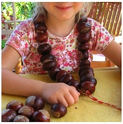 Crafts with acorns conkers things to make and do crafts and activities for kids the - Acorn and chestnut crafts ...
