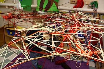 PreschoolDazeyarnspiderweb