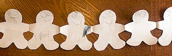 LearningVicariouslygingerbreadmanpaperdolls