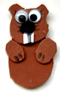 ActivityVillagegroundhogfingerpuppet