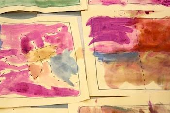 PreschoolDazequiltedwatercolors