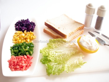 Kite Sandwich ingredients