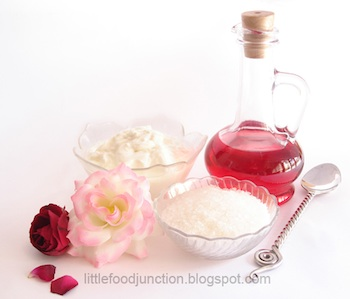 Rose Lassi ingredients