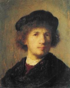 Vermeer self-portrait