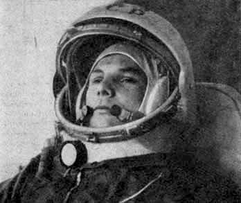 Russian Yury Gagarin