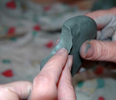 Bird tail-prepare groove 2