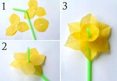 GCDSpa daffodil straw