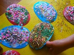 KCW Easter '10 confetti eggs