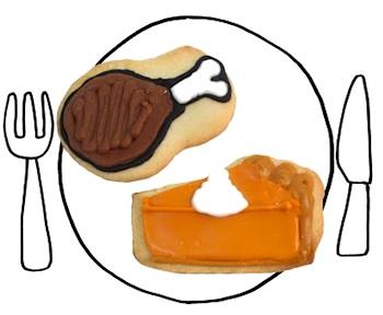 TheDecoratedCookiethanksgivingcookies