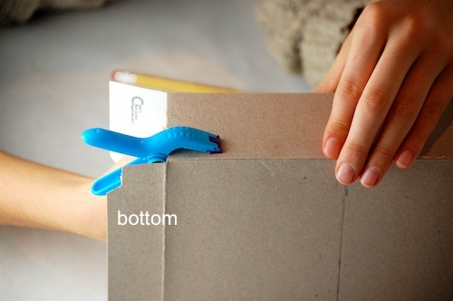 Bella Dia cereal box house clamp body