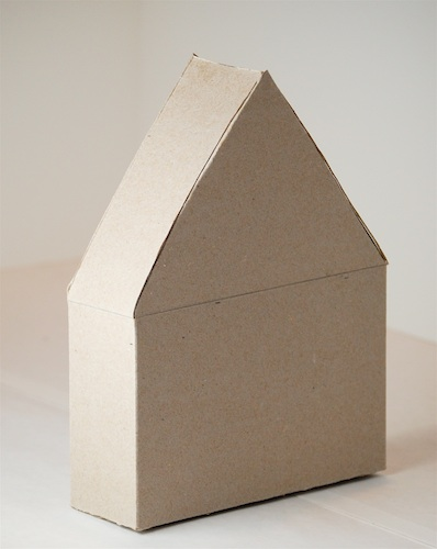 Bella Dia cereal box house tutorial finished