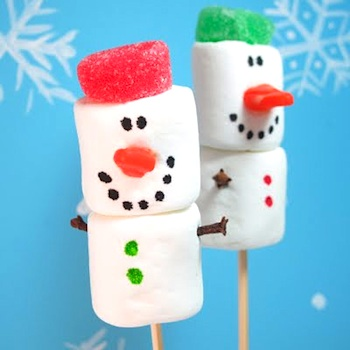 TheDecoratedCookiemarshmallowsnowmen