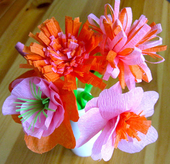 Crepe paper flowers things to make and do crafts and activities crepe paper flowers things to make and do crafts and activities for kids the crafty crow mightylinksfo