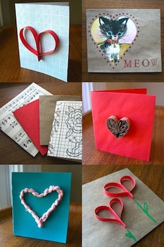 Ideas For Making Valentine Cards From Recycled Materials   Things To Make  And Do, Crafts And Activities For Kids   The Crafty Crow
