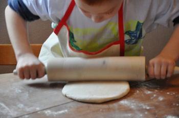 Italian pizza roll dough