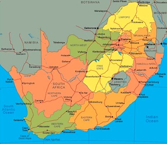 Crafts Around The World South Africa Things To Make And Do - Africa map ks2