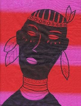 ArtProjectsForKidsmaasaiafricanportraits