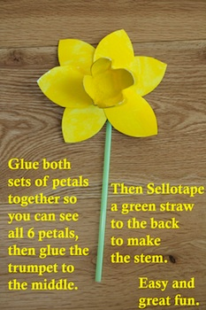 NotesFromEmily paper daffodils