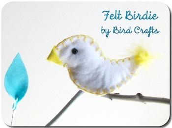 BirdCraftsfeltbird