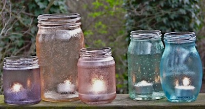 Glass Jars Into Lovely Pastel Lanterns - Things to Make and Do, Crafts and  Activities for Kids - The Crafty Crow