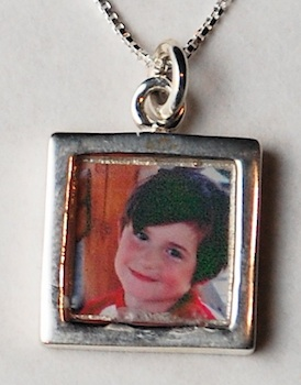 Photo pendant finished