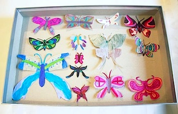 Growing Up Creative butterfly collection