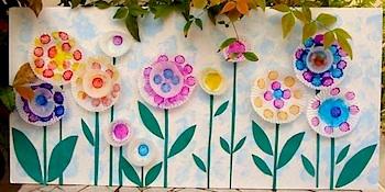 Creative Jewish Mom cupcake liner flowers