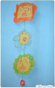 Dalle Un Colino flower garland