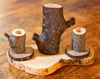 Childhood Magic tree branch tea set