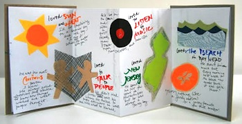 Making Books Blog fathers day book