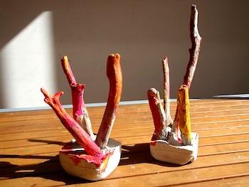 Gwynneth Beasley driftwood paperweights