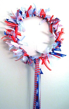 4 Crazy Kings 4th of july crown