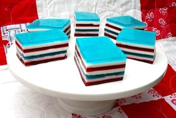 Penny Carnival red white blue jello