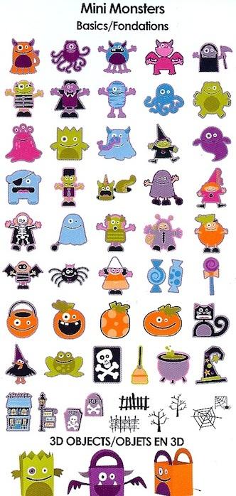 Mini Monsters basics