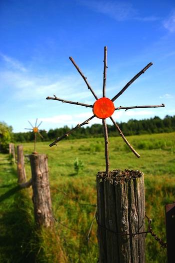 Wabi-Sabi Wanderings wood sun craft