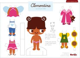 Kireei paper dolls